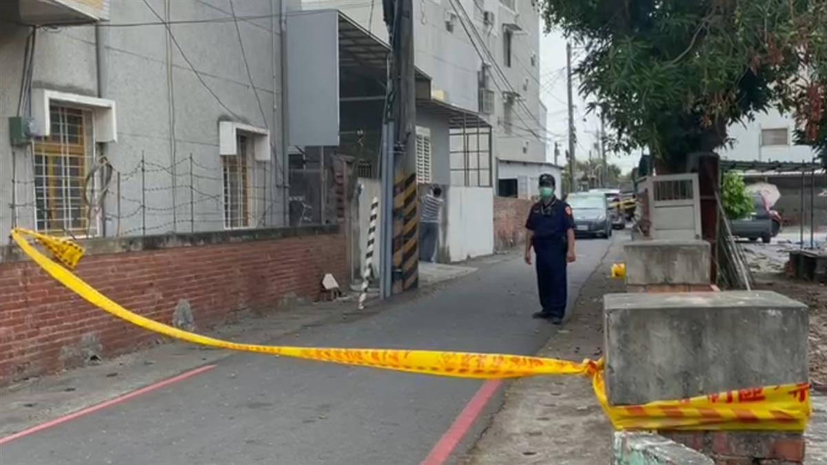 快訊/台南民宅爆槍擊 1男1女腦漿外溢慘死