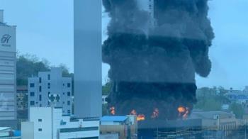 南韓19層辦公大樓「燒成火棍」 60工人受困 1人墜樓身亡