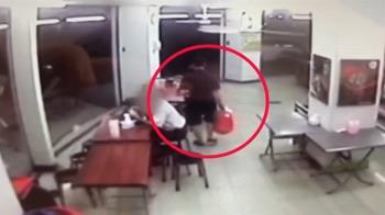 傻眼!不滿豆漿店椅子被坐 男攻擊顧客反遭打傷