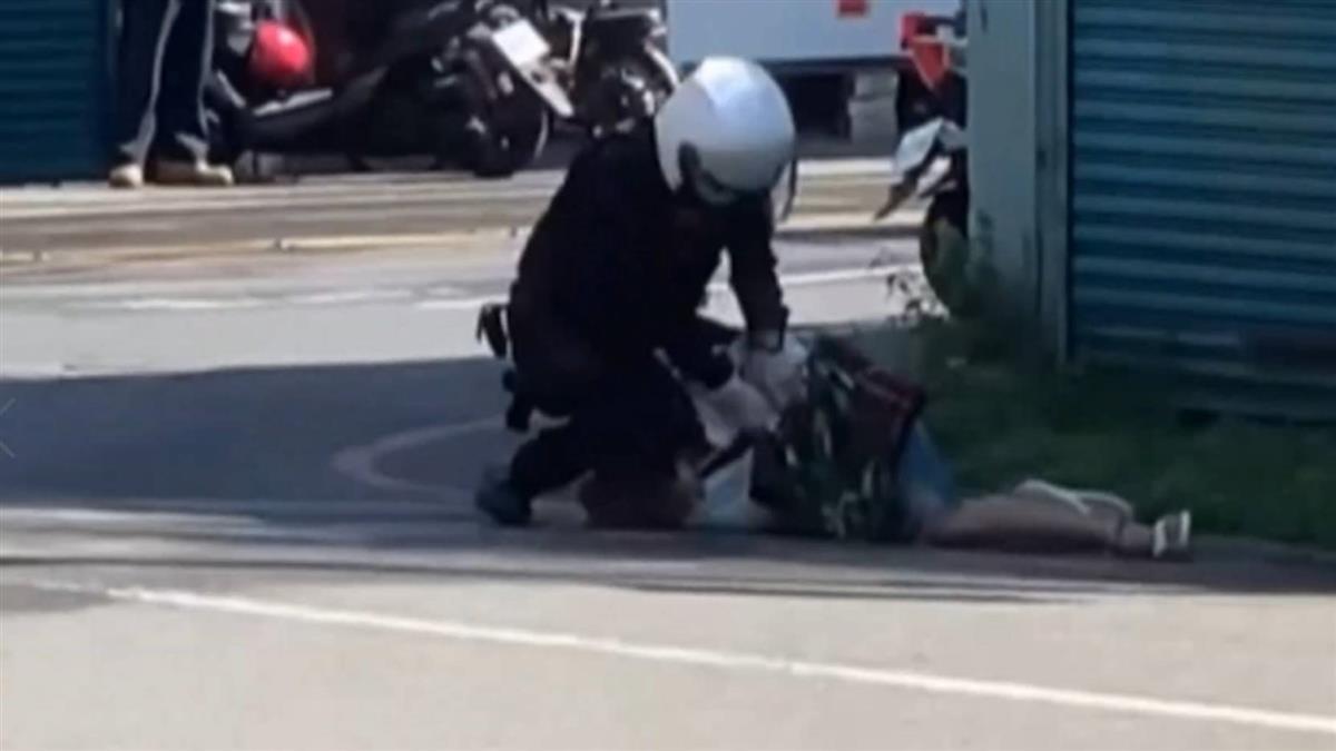 獨/藝術家詹慧玲控無端遭攔查 路邊遭警大外割影片曝