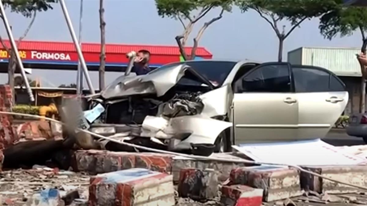 洗車後疑猝死暴衝 74歲駕駛不治2員工受傷