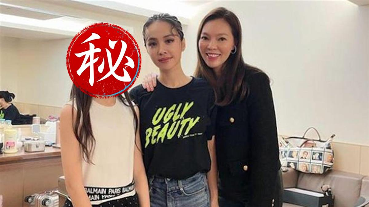 郭台銘12歲千金合照蔡依林 曾馨瑩:圓女兒的夢