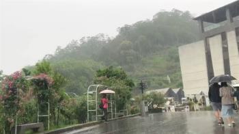 苗栗下大雨!當地民眾嗨炸:明德水庫要解渴了