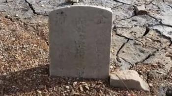日月潭水位降13公尺 178年前清朝古墓重現