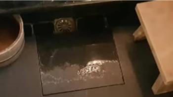 求改善!投訴人控 溫泉飯店浴室地磚滑動害摔
