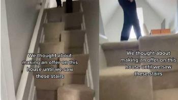 他看中1200萬3房3衛住宅 轉頭驚見「詭異樓梯」忍痛出價