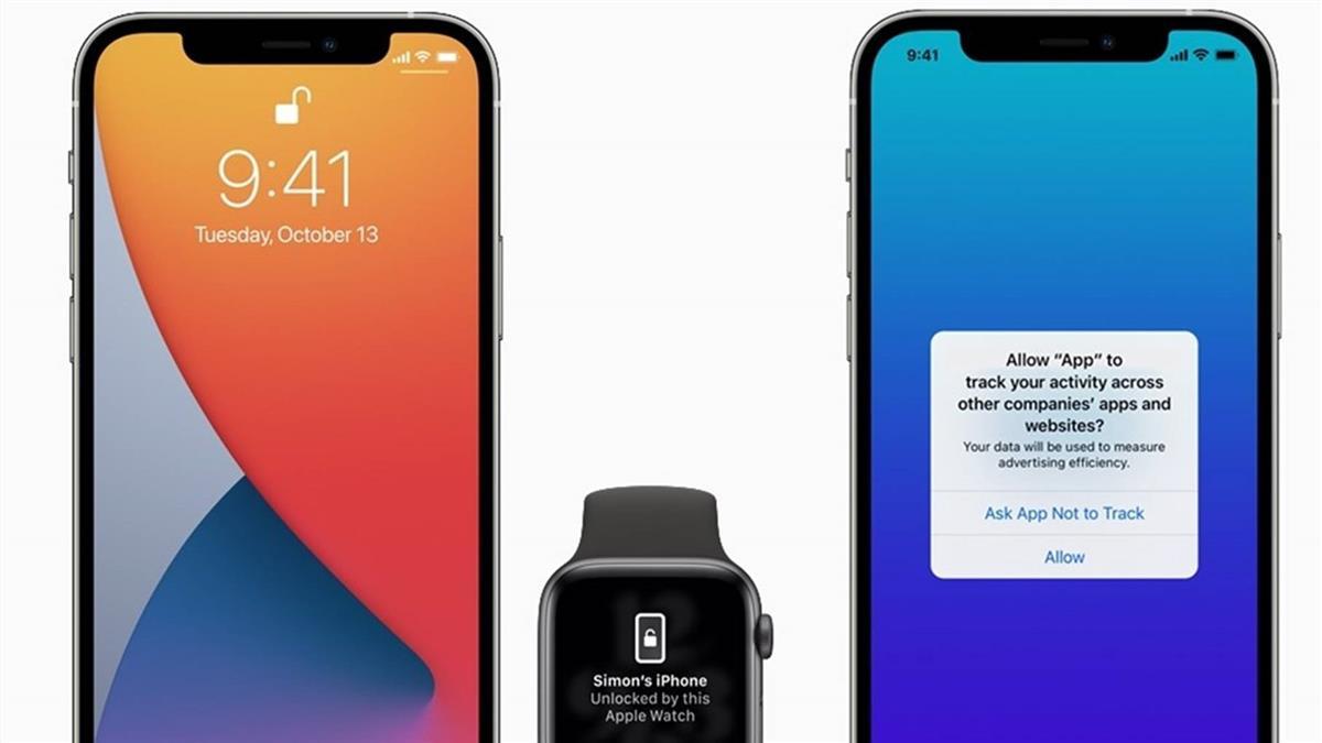 iOS 14.5新增4大功能 戴口罩也可解鎖iPhone