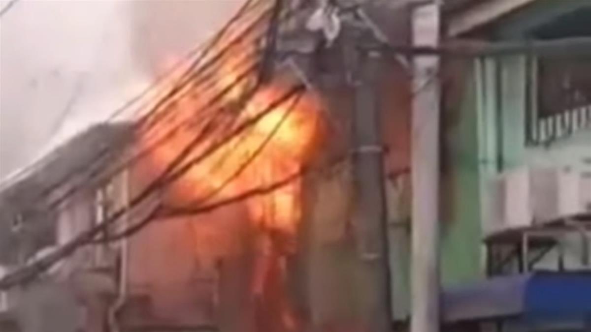 2層樓民宅大火!媽媽和6歲兒活活燒成焦屍 鄰居目睹嚇壞
