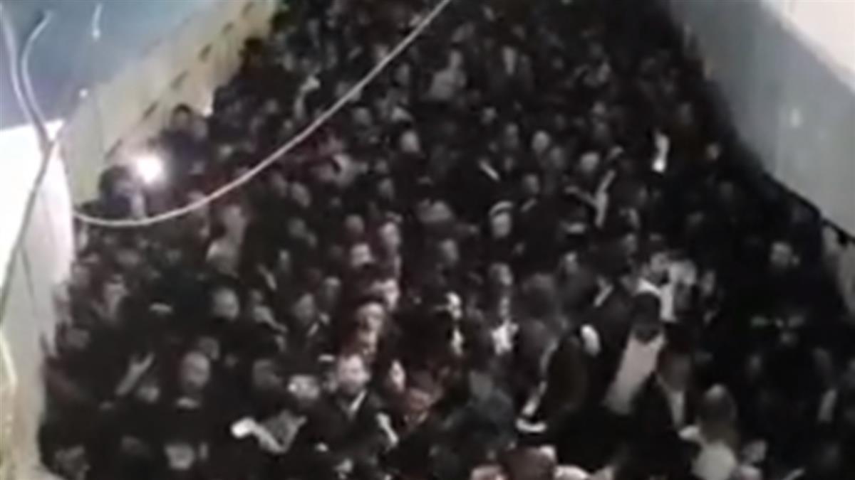 以色列篝火節爆發恐怖踩踏釀45死 總理哀悼承諾徹查