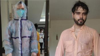 防護衣穿15小時拚救人 印度醫「濕身照」13萬人推爆