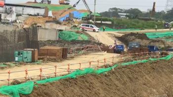 快訊/竹科寶山一期工安意外 台積電包商員工遭電桿砸中命危