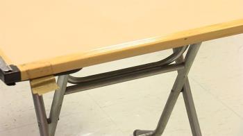 台中3歲童遭折疊桌夾胸 緊急送醫仍不治