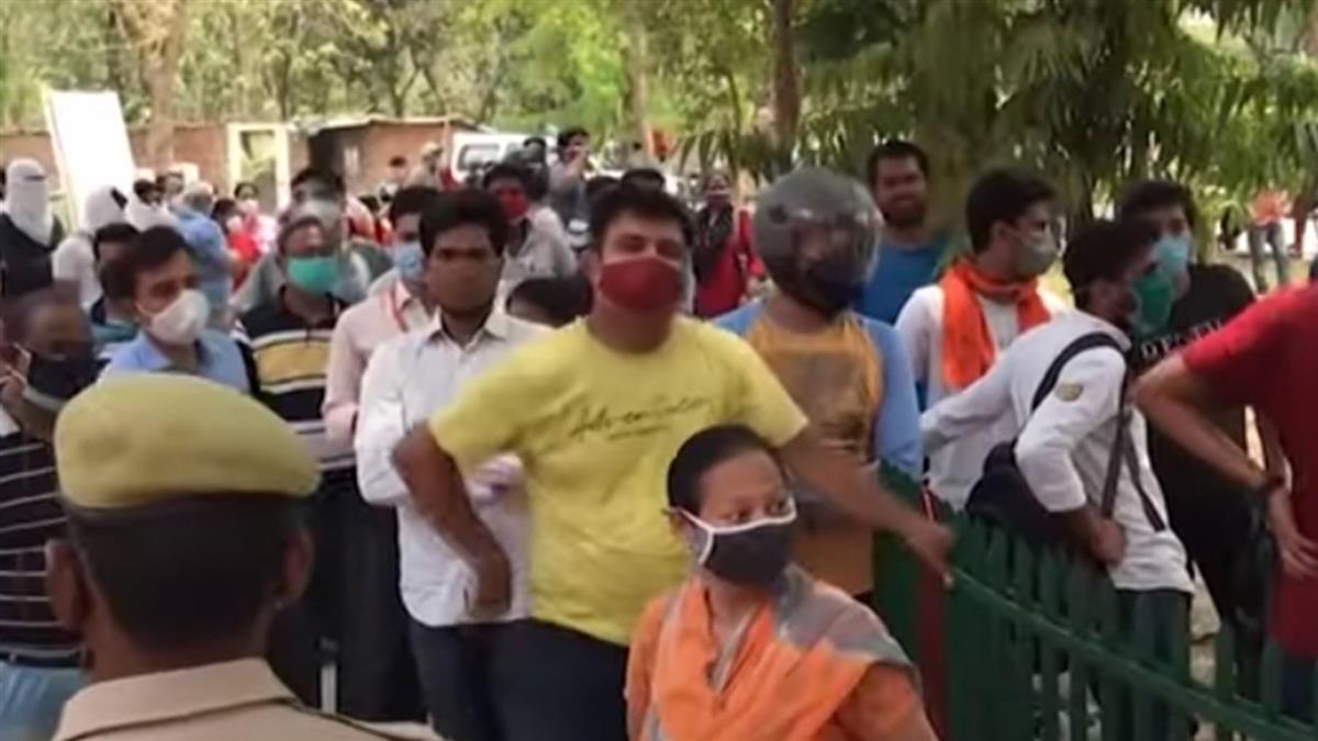 獨/印度疫情失控 台商上街直擊孟買街頭現況