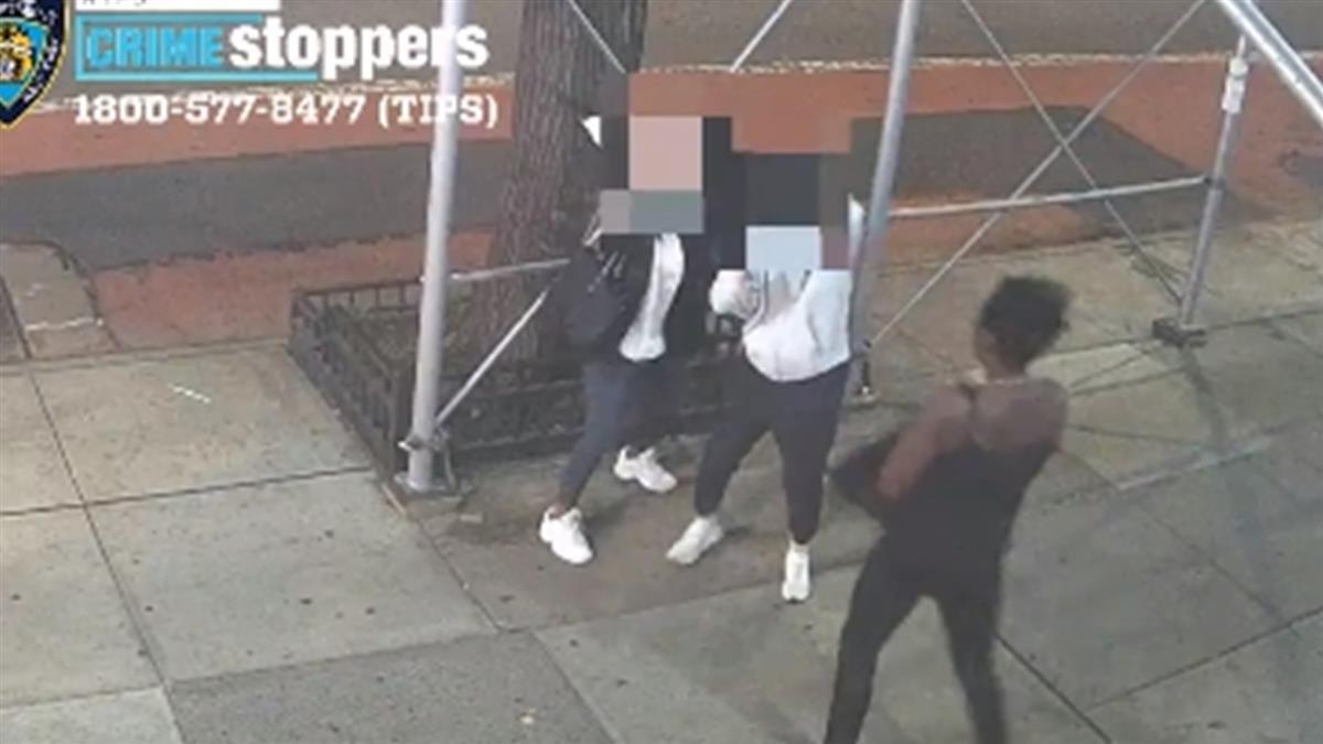 台留學生紐約遭鐵槌爆頭 非裔女怒吼:脫下你的口罩