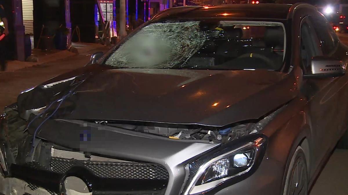 台中男酒駕高速衝撞 女路人遭拖行50公尺慘死