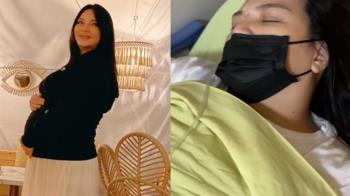 小甜甜宮縮掛急診!腎指數飆3點多 為了胎兒不動手術