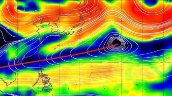 今年不正常! 鄭明典畫一條紅線:副熱帶高壓超強