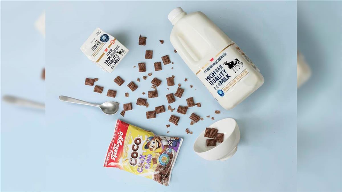 早餐不只有外食!林鳯營X家樂氏給你一分鐘營養早餐新選擇