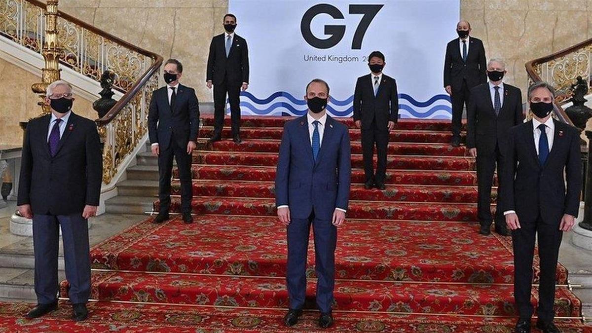 G7外長呼籲中國履行義務 支持台灣參與世界衛生大會