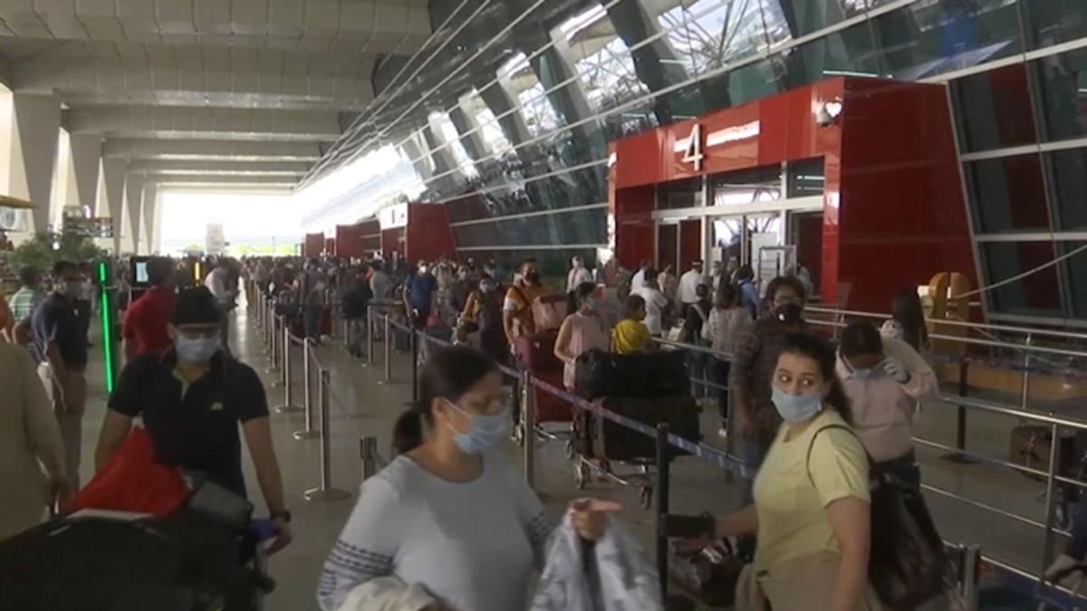 印度疫情嚴峻 外交部安排包機80多人報名