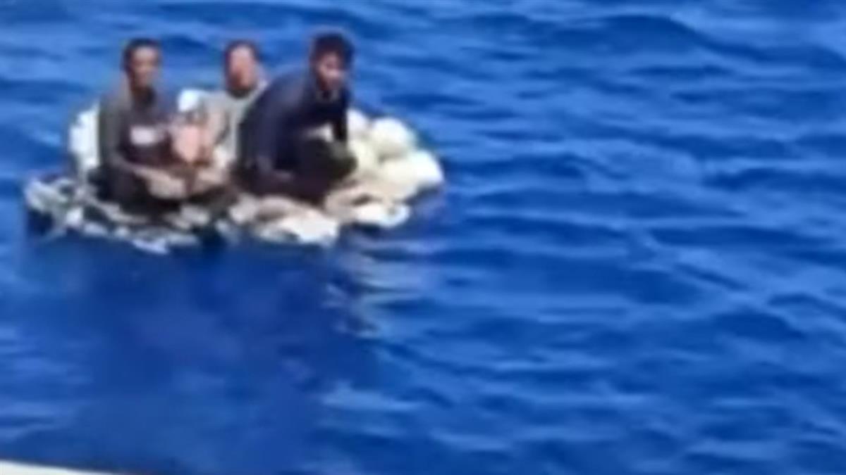 海上奇蹟!漁船觸礁沉 3船員海漂36時被客輪救起