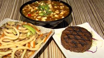 吃素有肉感!燒肉能烤「素臘肉」串燒炸「素牛漢堡排」