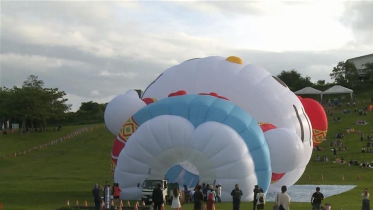 HELLO KITTY熱氣球露面開箱!百名粉絲相見歡