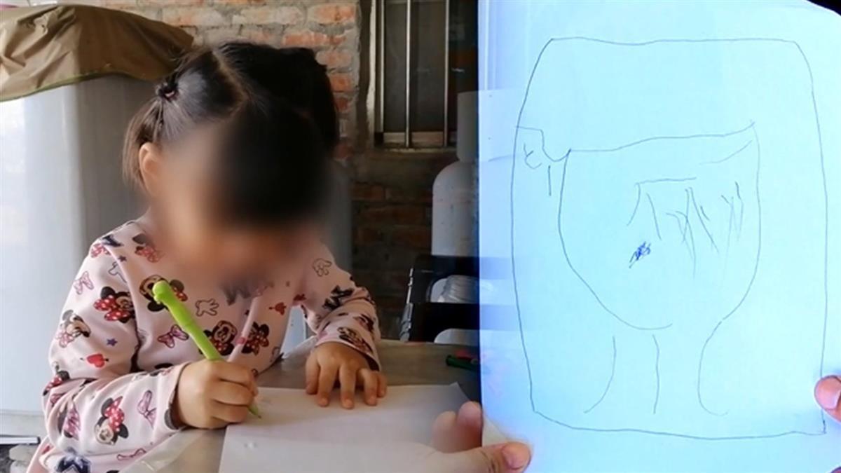 感人!4歲鄭小妹畫圖盼「豬舍變新房」 台北善心女捐75萬圓夢
