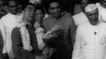1962年中國大陸總理周恩來訪問印度