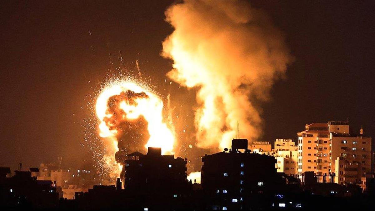 巴以衝突:火箭彈與空襲籠罩耶路撒冷 國際社會呼籲雙方保持冷靜