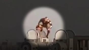 台中鋼鐵人爆假的!他貼近照曝真相:是造型氣球