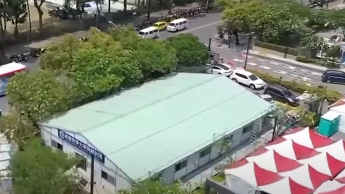 組合屋式台灣版方艙醫院 搭建容易又迅速