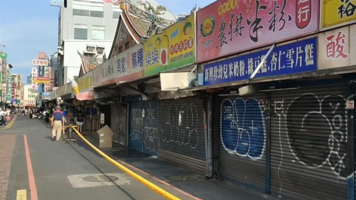 內灣老街遊客人數慘跌 新竹市城隍廟停參香2天