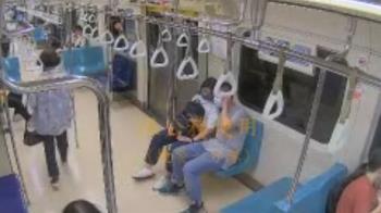 搭捷運亂戴口罩「口鼻全露」 夫妻被勸狠嗆正義女:下車堵妳