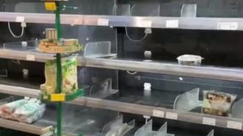 民生物資搶購潮! 米、泡麵、衛生紙 經濟部籲限購2份