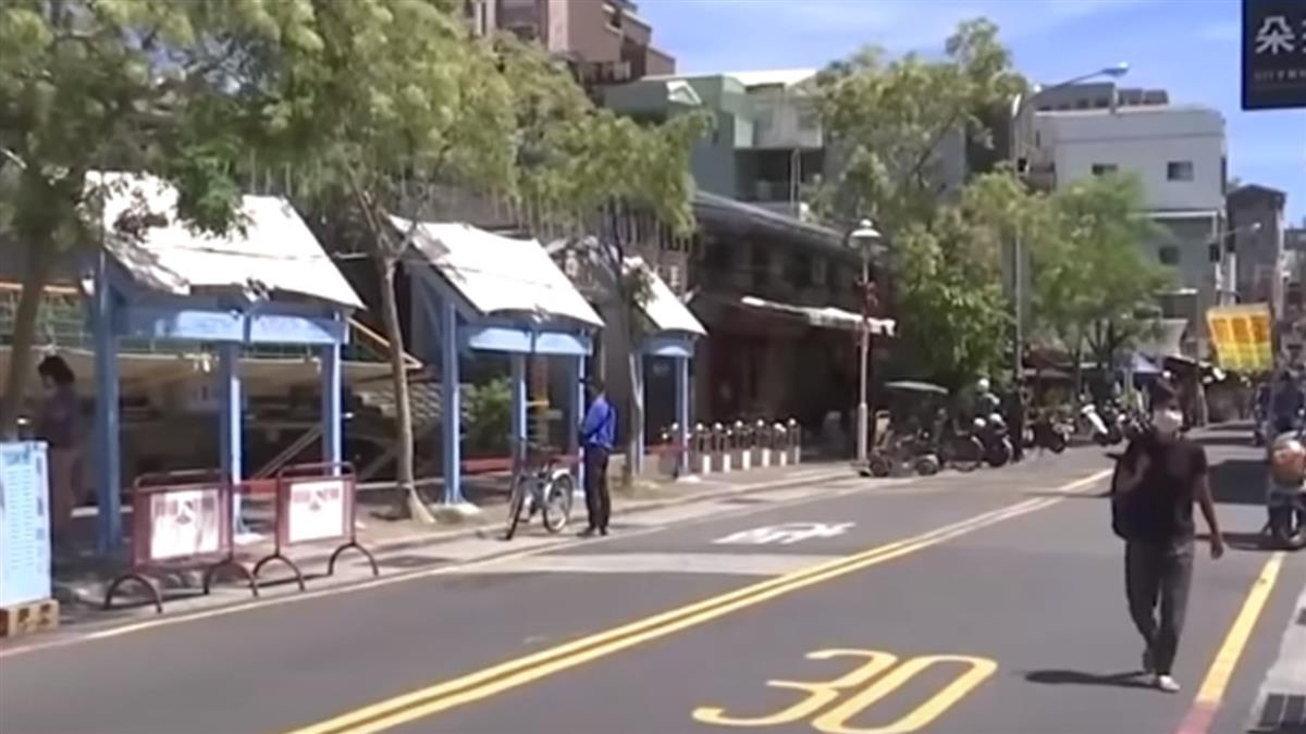 萬華婦回台南後確診 疫緊張國華街冷清