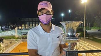 納達爾擊落喬科維奇 奪第10座義大利公開賽冠軍