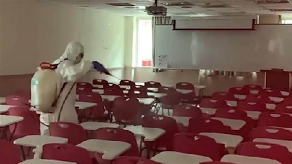 快訊/文化大學1學生篩檢陽性 全校緊急大消毒