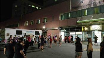 彰化篩檢站擠百人累垮 懷胎7個月醫護妻「狂加班」