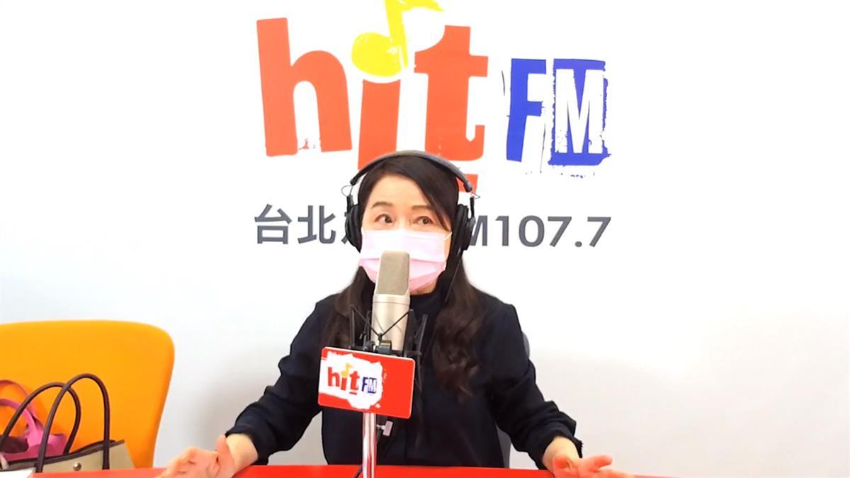 周玉蔻節目「做到明天」 怒轟:電台被國台辦指揮