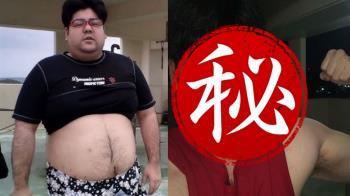 137公斤網紅居家「狂甩68公斤」 網嚇壞:超像彭于晏
