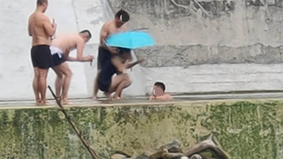 扯!13遊客桃源秘境半裸戲水 無罩嗨玩慘了