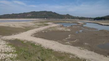阿公店水庫蓄水量探底 6月起空庫防淤3個月