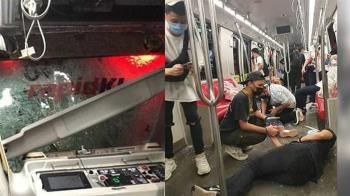馬國2火車驚悚相撞 213名乘客倒臥血哀嚎