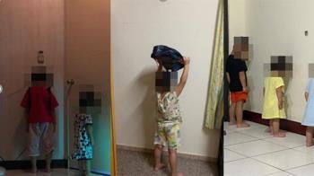 停課延長超崩潰!家長蓋「罰站樓」 網笑:新增300例兒童挨罰