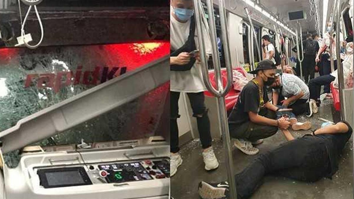 2列車相撞!上百乘客倒血泊哀號 疑這原因釀禍