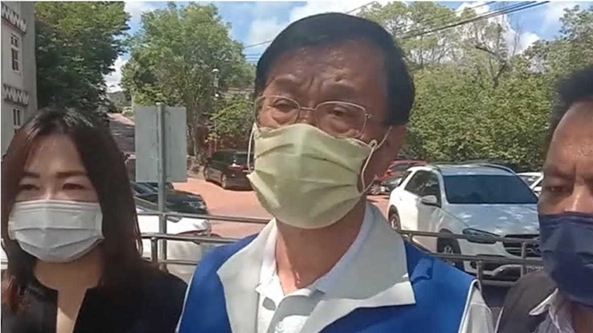 南投疫苗公文最速送中央 縣長:救人,別考慮政治