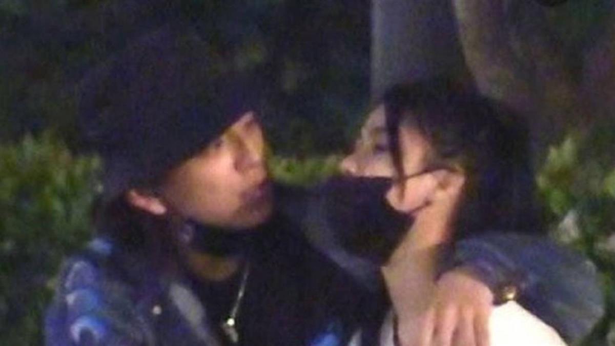 王大陸濕吻「酒醉女神」 街頭激情全被拍