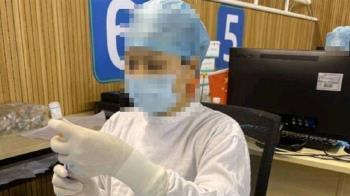 護理師1小時打完60人疫苗 手開瓶蓋磨到出血畫面曝