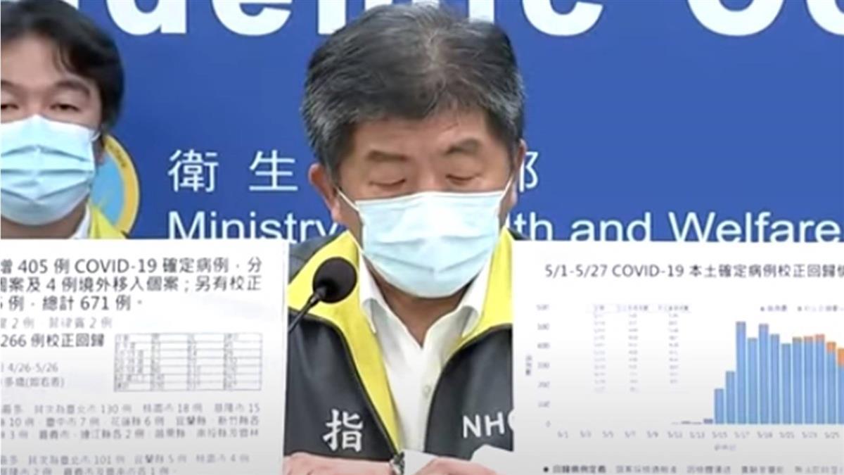 陳時中曝輝瑞疫苗內幕 「我國」無奈改「台灣」後沒下文